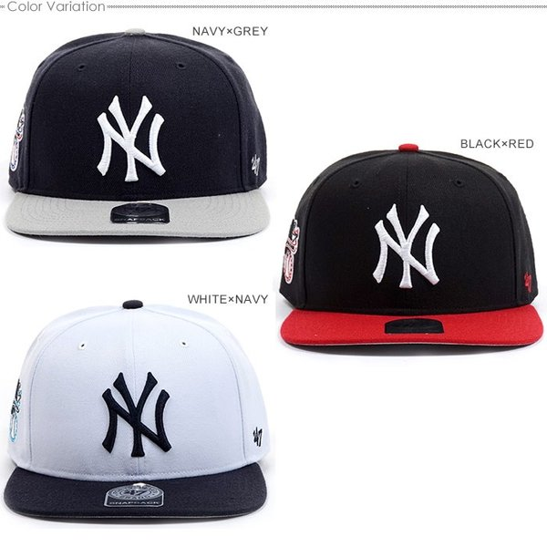 NYヤンキース キャップ 47Brand スナップバック MLB 帽子|angelitta|04