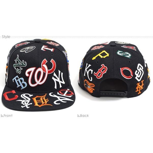 47 Brand キャップ スナップバック オールスター MLB TEAM UP '47 CAPTAIN Black'18/|angelitta|02