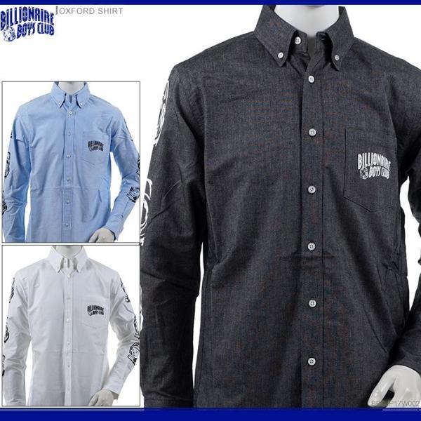 BILLIONAIRE BOYS CLUB ボタンダウンシャツ ビリオネア・ボーイズ・クラブ 半額セール 長袖シャツ OXFORD SHIRT angelitta