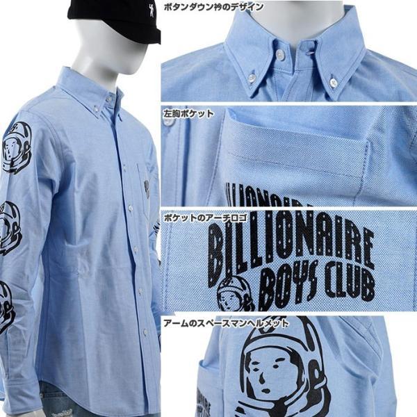 BILLIONAIRE BOYS CLUB ボタンダウンシャツ ビリオネア・ボーイズ・クラブ 半額セール 長袖シャツ OXFORD SHIRT angelitta 03