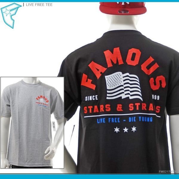 50%OFF FAMOUS STARS&STRAPS フェイマス FAMOUS Tシャツ LIVE FREE TEE famous トップス フェイマス 半袖Tシャツ セール angelitta
