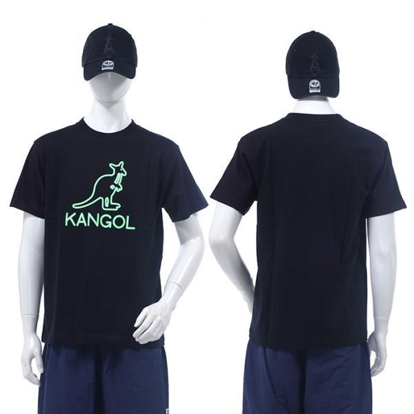 KANGOL Tシャツ カンゴール 半袖Tシャツ KAGOL NEON TEE ストリート|angelitta|02