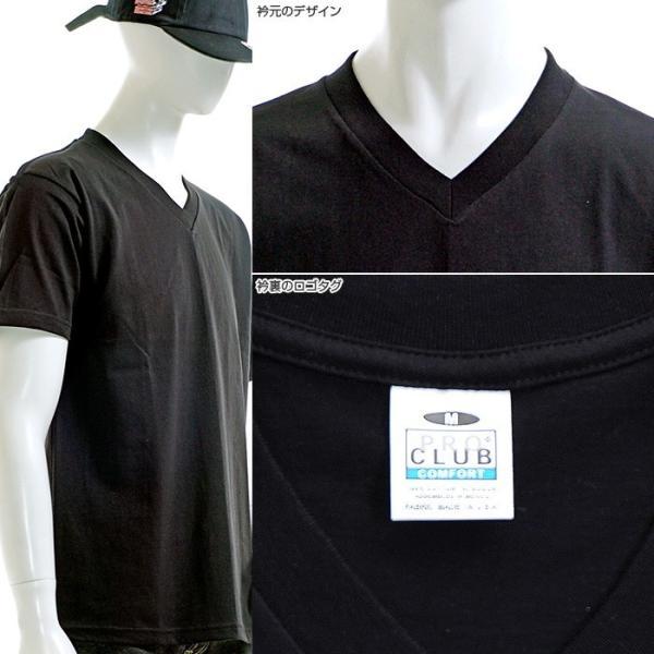 PRO CLUB Tシャツ プロクラブ 半袖Tシャツ V-NECK TEE COMFORT angelitta 03