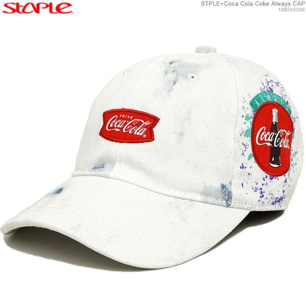 STAPLE キャップ ステイプル コカコーラ ストラップバック STPLE×Coca Cola Coke Always CAP|angelitta