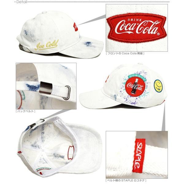 STAPLE キャップ ステイプル コカコーラ ストラップバック STPLE×Coca Cola Coke Always CAP|angelitta|03