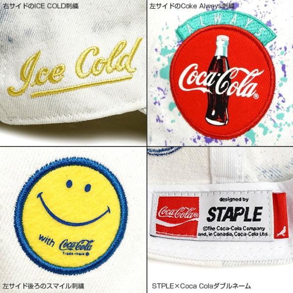 STAPLE キャップ ステイプル コカコーラ ストラップバック STPLE×Coca Cola Coke Always CAP|angelitta|04