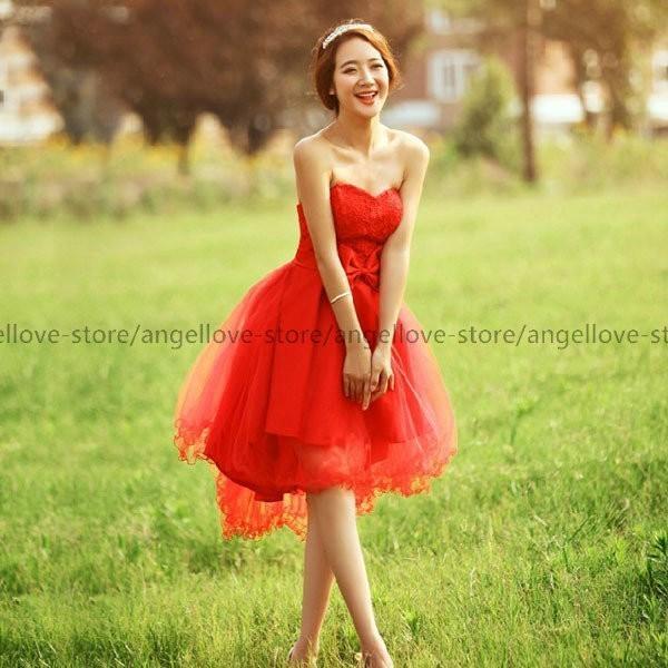 1bff8c1ec4613 ... ウェディングドレス ミニ ウエディングドレス ミニドレス カラードレス 二次会ドレス パーティードレス 花嫁ドレス 大きい ...