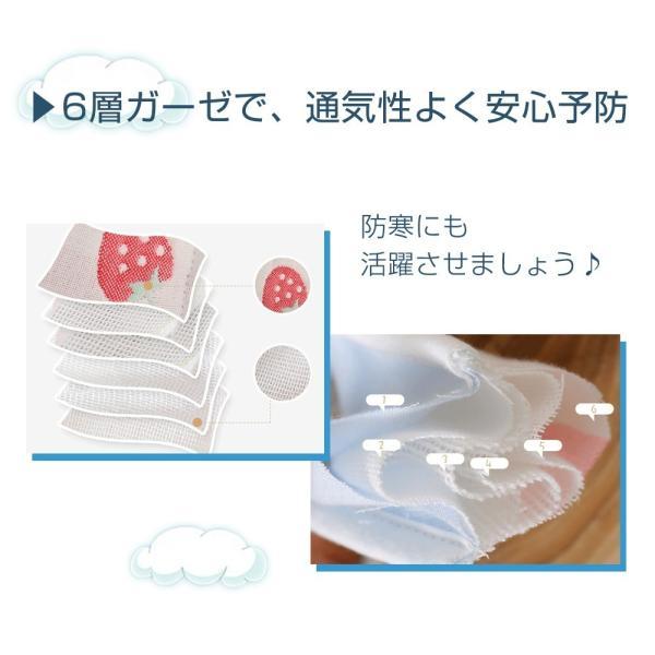 【4月下旬予約】マスク 洗える 大人用 2枚セット 布 6層ガーゼ マスク 防寒 痛くなりにくい メール便y|angelluna|03