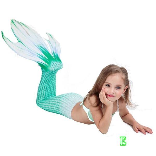 26946c9d99d56 ... 水着 子供 女の子 ワンピース水着 ビキニ 水着 人魚 2点セット 可愛い にんぎょ キッズ ...