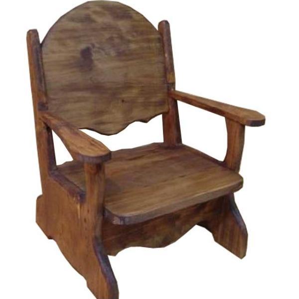 子供用椅子 アンティークブラウン w34d29h42cm チャイルドチェア 木製 ひのき 受注製作