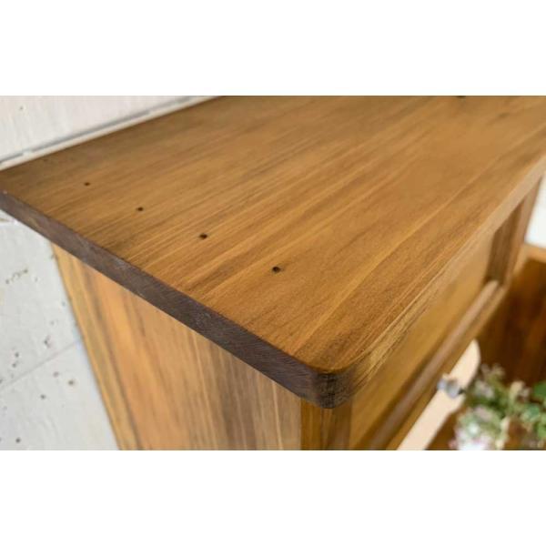 キッチンペーパーホルダー 木製 ひのき 木製扉 壁かけラック レギュラーサイズ(230mm)ハンドメイド 手作り オーダーメイド アンティークブラウン 受注製作|angelsdust|15