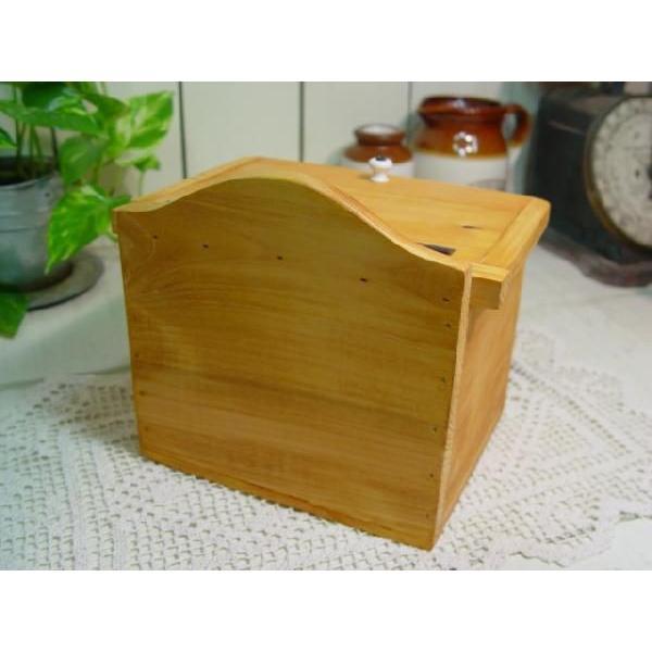 サニタリーケース カントリーチェック 青 ナチュラル w20d15.5h17.5cm ハート ヒノキ 木製 受注製作|angelsdust|05
