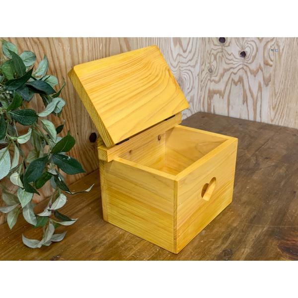 サニタリーボックス ナチュラル w20d15.5h17.5cm カントリーハート 木製 ひのき 受注製作|angelsdust|04
