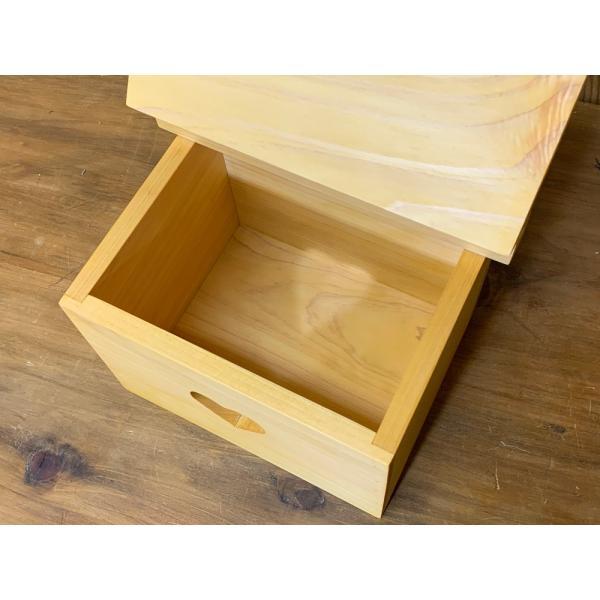 サニタリーボックス ナチュラル w20d15.5h17.5cm カントリーハート 木製 ひのき 受注製作|angelsdust|05