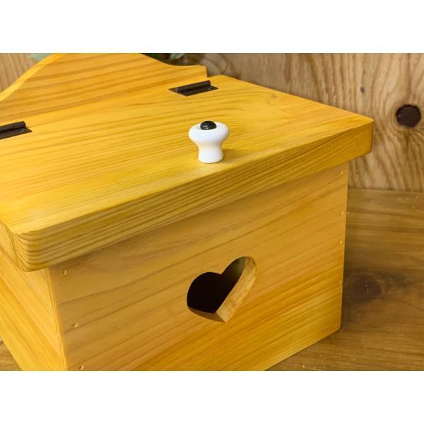サニタリーボックス ナチュラル w20d15.5h17.5cm カントリーハート 木製 ひのき 受注製作|angelsdust|06
