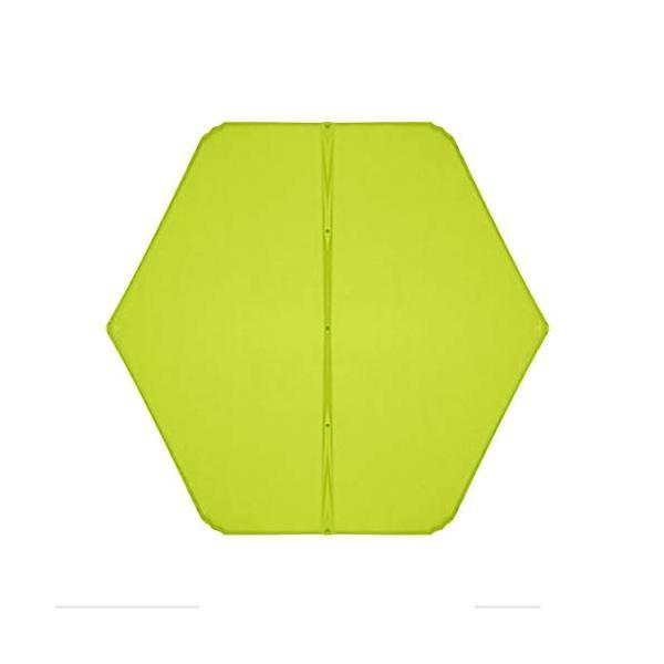 自動膨張式クッション 幅の広い厚みのあるマット ピクニック キャンプ アウトドア テント 睡眠マット 六角形のエアベッド グリーン|angelsnow|07