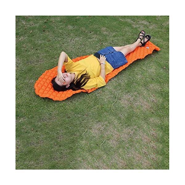 Balight 空気注入式睡眠マット 超軽量 コンパクト 空気注入式パッド マットレス 防湿 エアベッド ハイキング バックパッキング キャンプ|angelsnow|05