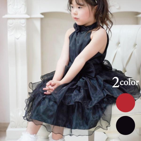 グラスドール 子供 ドレス ブラック レッド 100cm 在庫限り ネコポス不可商品 返品交換不可 M便1/0 angelsrobe
