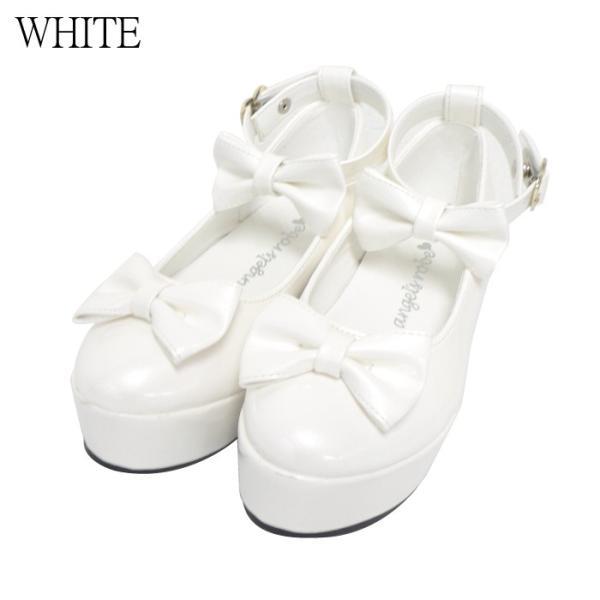 ダブルリボンパンプス 子供靴 全3色 18-23cm ネコポス不可 返品交換不可 [M便1/0]|angelsrobe|04