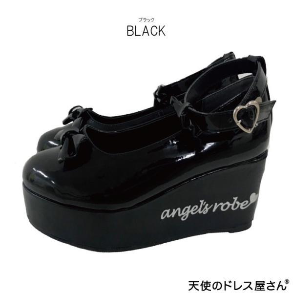 ダブルリボンパンプス 子供靴 全3色 18-24cm ネコポス不可 返品交換不可 M便[1/0]|angelsrobe|03