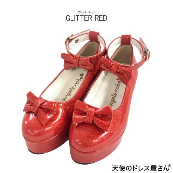 ダブルリボンパンプス 子供靴 全3色 18-24cm ネコポス不可 返品交換不可 M便[1/0]|angelsrobe|04