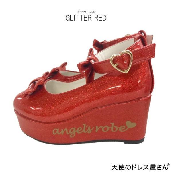 ダブルリボンパンプス 子供靴 全3色 18-24cm ネコポス不可 返品交換不可 M便[1/0]|angelsrobe|05