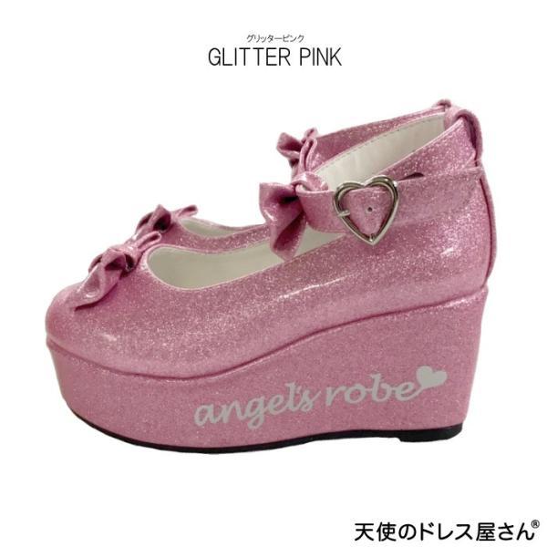 ダブルリボンパンプス 子供靴 全3色 18-24cm ネコポス不可 返品交換不可 M便[1/0]|angelsrobe|08