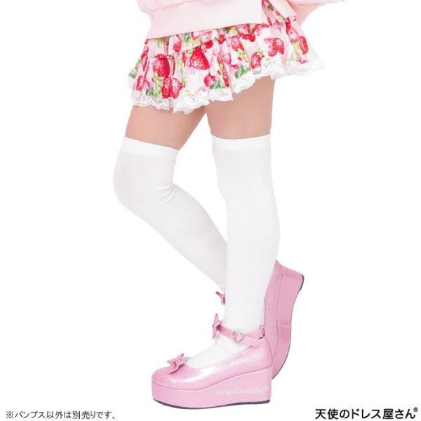 ダブルリボンパンプス 子供靴 全3色 18-24cm ネコポス不可 返品交換不可 M便[1/0]|angelsrobe|09