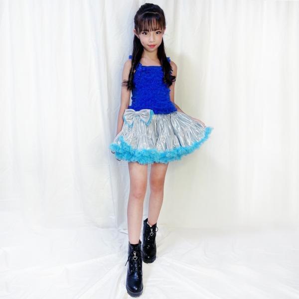 子供服 ダンス チュチュキャミソール キャミ 全11色 子ども 女の子 キッズ チアガール チアガール衣装 単品ならネコポス可能 [M便1/1]|angelsrobe|10
