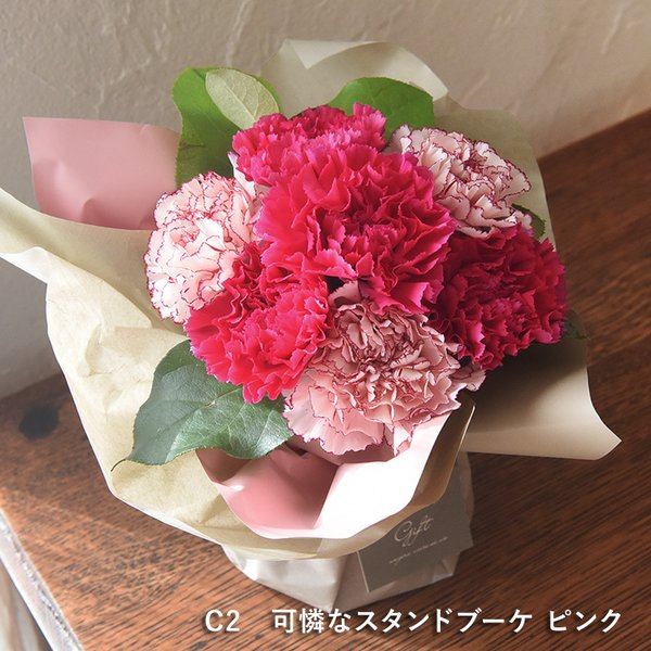2019 母の日ギフト 選べるアレンジメント Merci メルシー 母の日 花 カーネーション 花束 鉢植え【送料無料】|angers|09