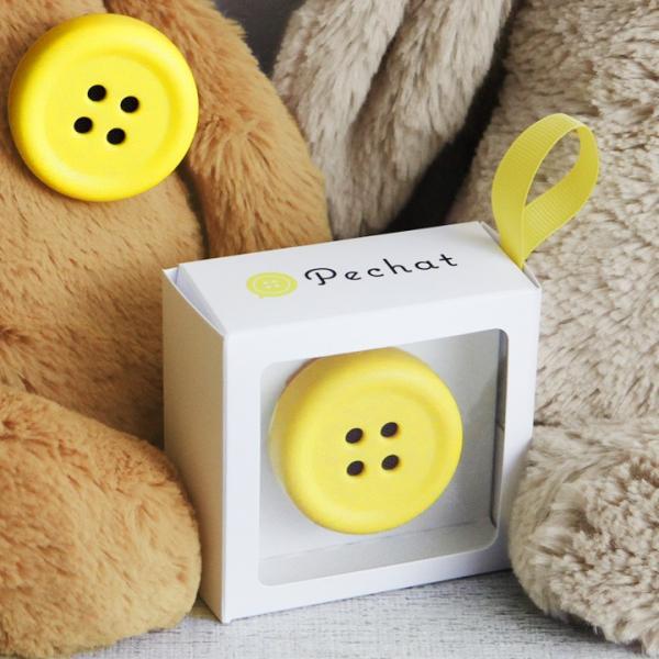 ペチャット ボタン型スピーカー/Pechat