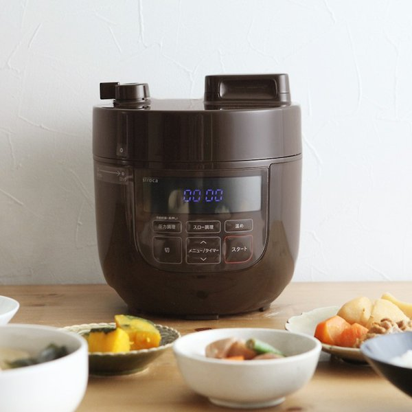 siroca 電気圧力鍋 SP-D131 スロー調理機能付き/シロカ【送料無料】 angers