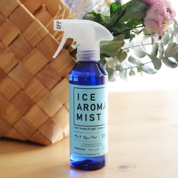 アイスアロマミスト シャツの上からシュッと冷たいアロマ 消臭・抗菌|angers