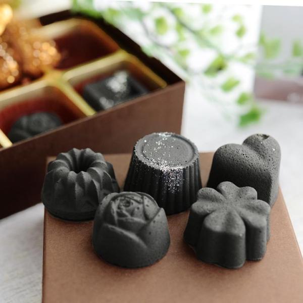 炭のチョコラ ギフトBOX 6個入/kinokoto