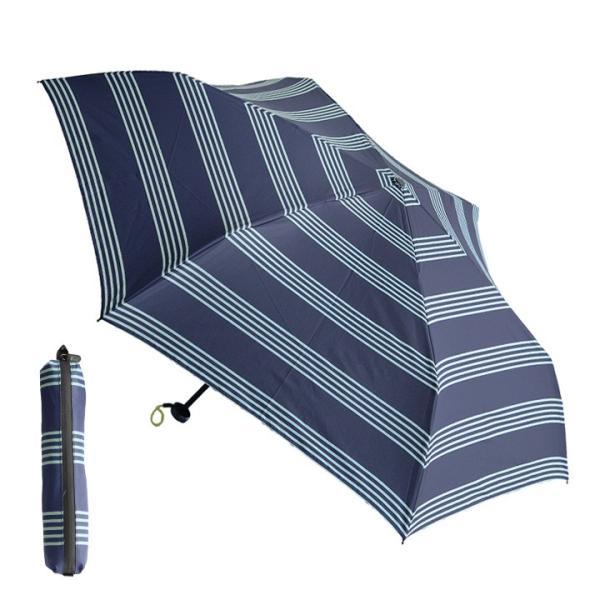 HUS. UV加工 カーボンスリムワイド レイン 軽量折りたたみ傘/Carbon E Slim55 angers