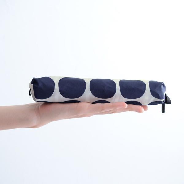 HUS. UV加工 カーボンスリムワイド レイン 軽量折りたたみ傘/Carbon E Slim55 angers 06