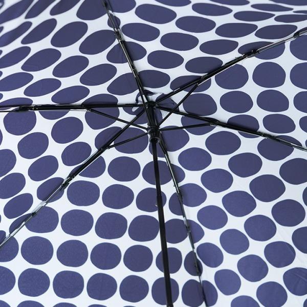 HUS. UV加工 カーボンスリムワイド レイン 軽量折りたたみ傘/Carbon E Slim55 angers 07