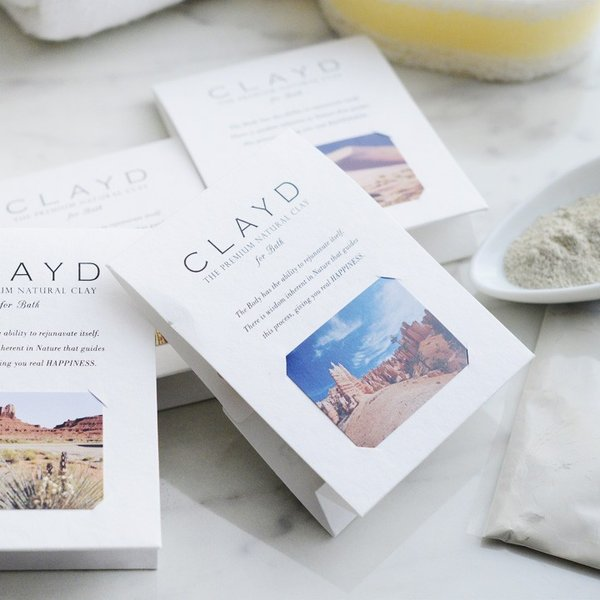 クレイド バスパウダー ワンタイム 30g/CLAYD