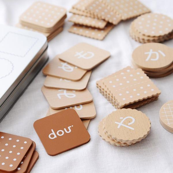 ひらがなビスケット hiragana biscuit 木製玩具/dou