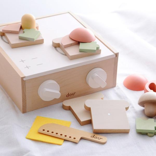 リトルシェフ おままごと 型はめ 木製玩具 little chef/dou【送料無料】