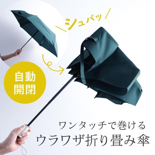 3秒で折りたためる傘 ウラワザ 自動開閉傘/urawaza