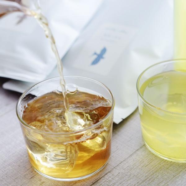 うるおすとき 水出し煎茶 水出しほうじ茶 10g×10包/茶屋すずわ