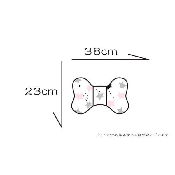 ベビーカー ヘッド サポート ピロー リボン型 赤ちゃん 頭 安定 固定|angeselect|04