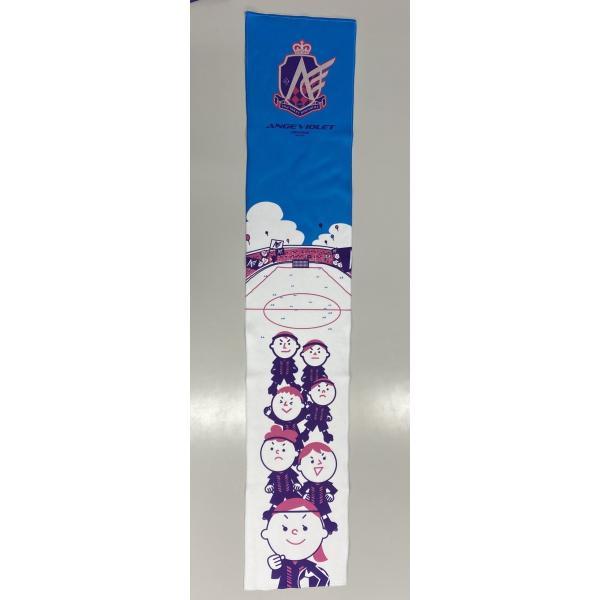 2020ハイブリッドマフラータオル(横川駅前イラスト)|angeviolet