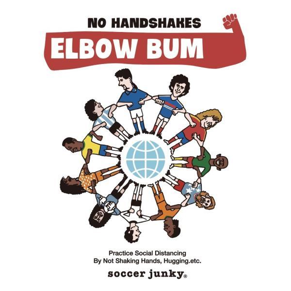 soccer junky iPhoneケース ELBOW BUMPS angeviolet 02