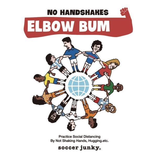 KIDSサイズ soccer junky ELBOW BUMPS(半袖TEE)|angeviolet|02