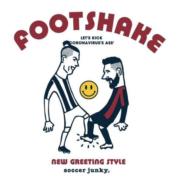KIDSサイズ soccer junky FOOTSHAKE(半袖TEE)|angeviolet|02