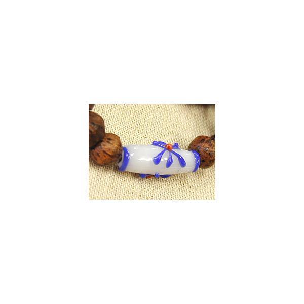 アジアン雑貨 オリジナル ブレスレット ココナッツリング 陶白 メール便対応|angkasa|02