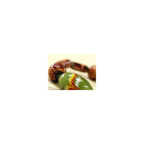 ハンドメイド オリジナルブレスレット 『ジェリービンズ』 アジアン雑貨 アジアンアクセサリー|angkasa|02