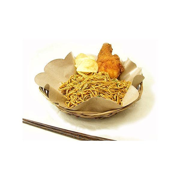 ローカルな食器 LIDIの編みこみ皿と花柄のランチョンペーパー(10枚付) アジアン雑貨 バリ雑貨|angkasa|04